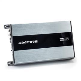 Ampire MBM110.4 - 4-Kanal Endstufe (4x 75 Watt RMS / 4x 110 Watt RMS / 2x 220 Watt RMS gebrückt)