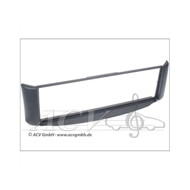 c~quence 281190-14 - 1-DIN Facia Plate to retrofit for Smart ForTwo (450) from 01/1998 (anthracite)