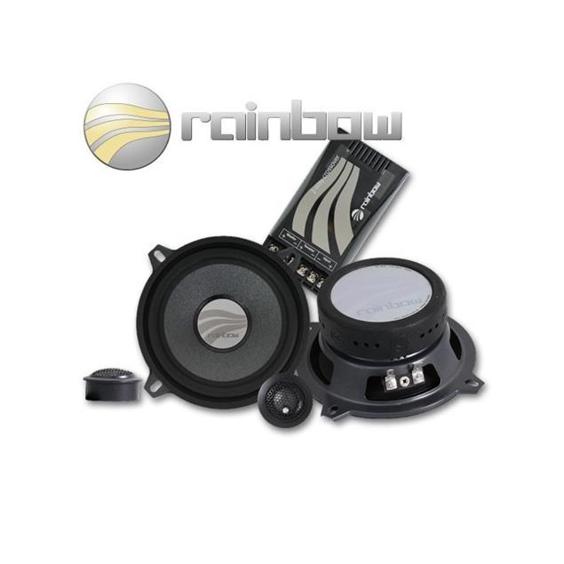RAINBOW 231169 - DL-C5.2 Speaker 2-Way Compo Set 120W 5.25 inch 130 mm