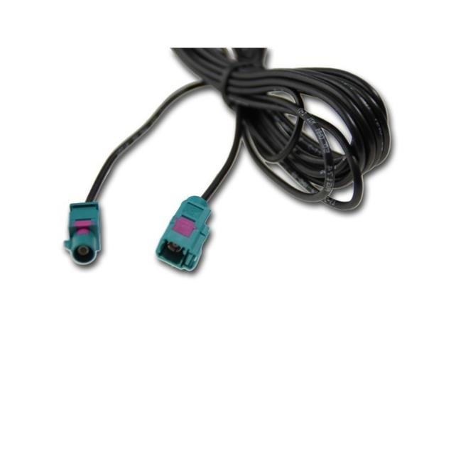 ACV 1524-500 - 5m Fakra antenna adapter cable extension male -> female
