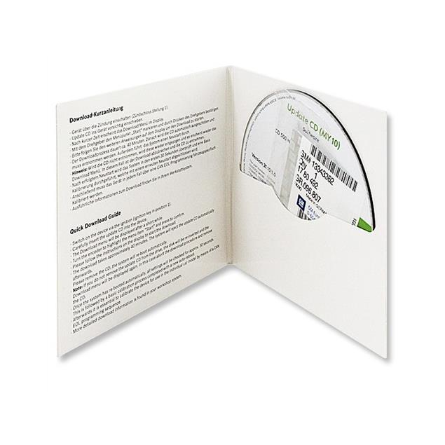 Operating software - Navigation / Radio software Update for Opel CD500 / DVD800 / Chevrolet Navigation (as 2010/1.0)