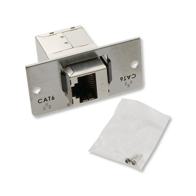 Oehlbach 8865 - MMT Cat 6 - CAT 6 multimedia tray with Genderchanger