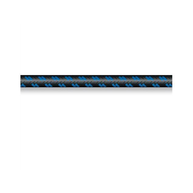 Sommer Cable 300-0112 - SC-CLASSIQUE  - Guitar Cable Vintage Style(1 m / 1 x 0,50 qmm / 6,5 mm /  black-blue)