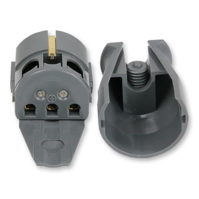 Supra Cables 3014000065 - LoRad SW-EU - Earthed mains plug IEC-320 (1 piece / anthracite)