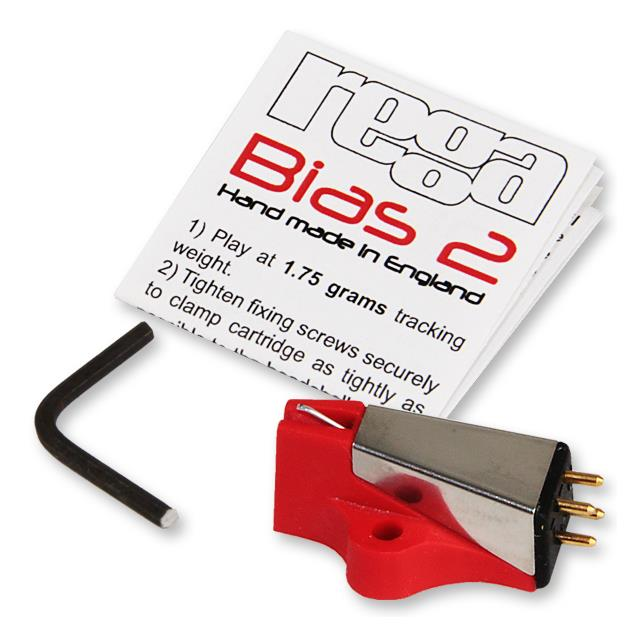Rega BIAS-2 - MM cartridge system (red with silver)