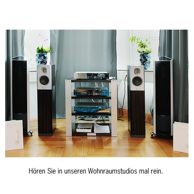 Burmester Classic Line - 036 Power amplifier (chrome /silver)