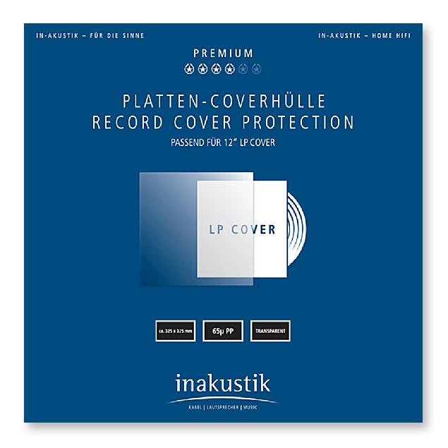 inakustik Record Cover Protection for 12'' LP Cover (50 pieces / transparent)