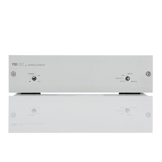 Musical Fidelity V90-DAC - Digital/analog converter (32 bit / silver / 1 piece)