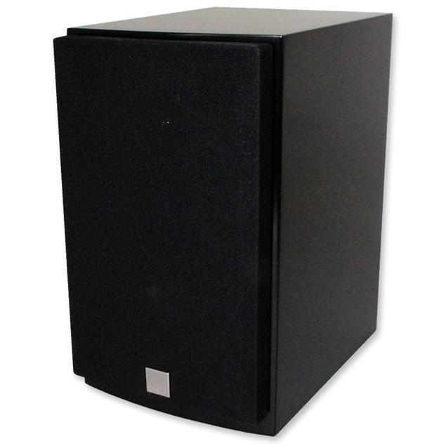 DALI Mentor Menuet - 2-Way bass reflex bookshelf-loudspeakers (20-100 W / black satin / 1 pair)