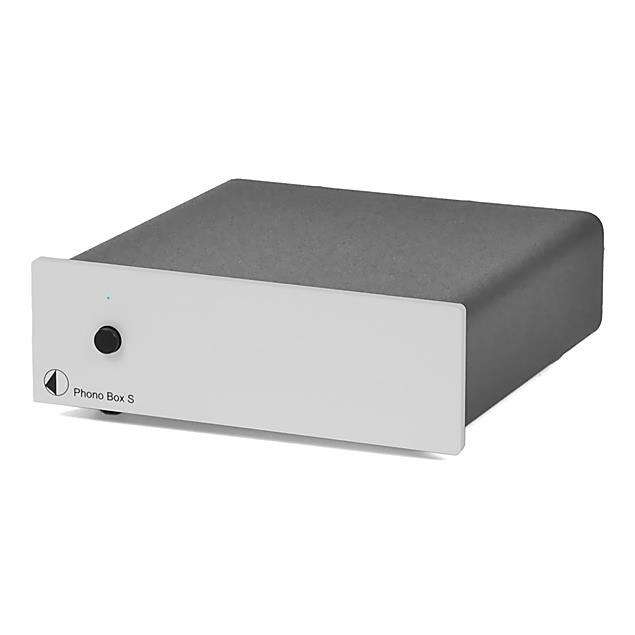 Pro-Ject Phono Box S - phono preamplifier (MM/MC) (silver)