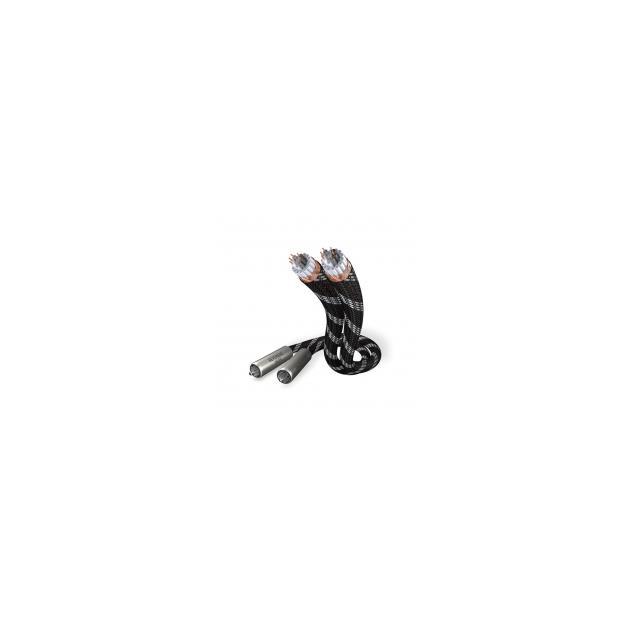 inakustik NF-1603 - RCA cable (2 x 1,5 m / RCA-RCA / black/white)