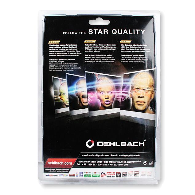 Oehlbach 9233 - USB Max A/M 750 - Max A/Mini B USB-3.0-Cable, Type-A to Type-Mini  (1 pc / 7,5 m / dark gray)