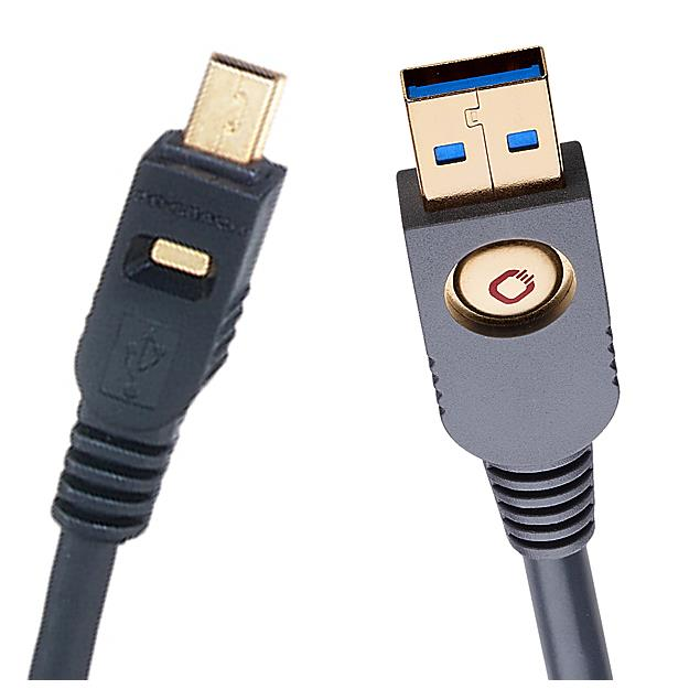 Oehlbach 9123 - USB A/Mini 500 - USB 2.0 cable, A to mini (1 pc / 5,0 m / black)