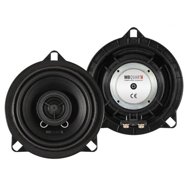"MB QUART QM100X BMW - 2-way coaxial loudspeakers for BMW (Quart Mobil series / 10cm / 4"" / 60 Watts RMS / 120 Watts MAX / 1 pair)"