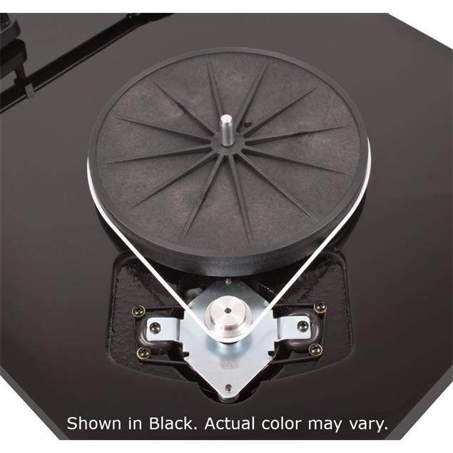 Pro-Ject Debut Carbon (DC) - record player incl. tonearm + Ortofon MM cartridge 2M Red (high-gloss black / incl. dust cover)