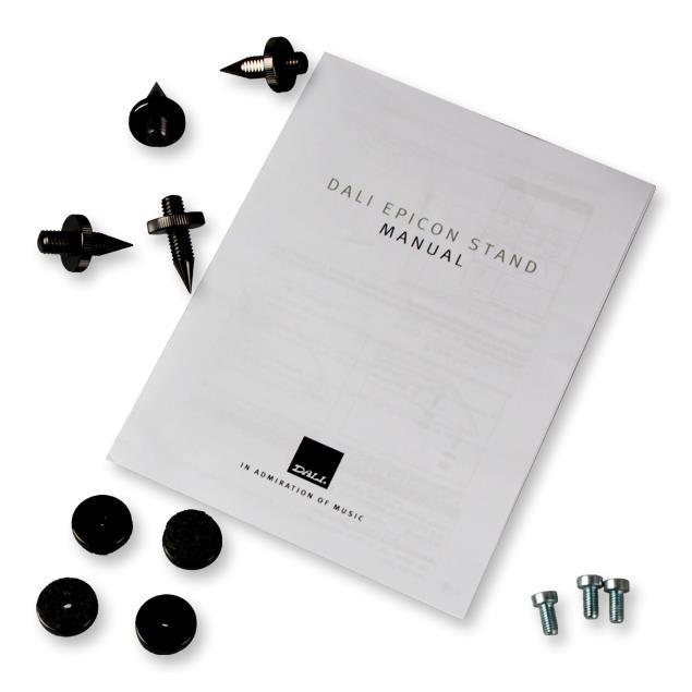 DALI Epicon stand - loudspeaker stand (black / 1 piece)