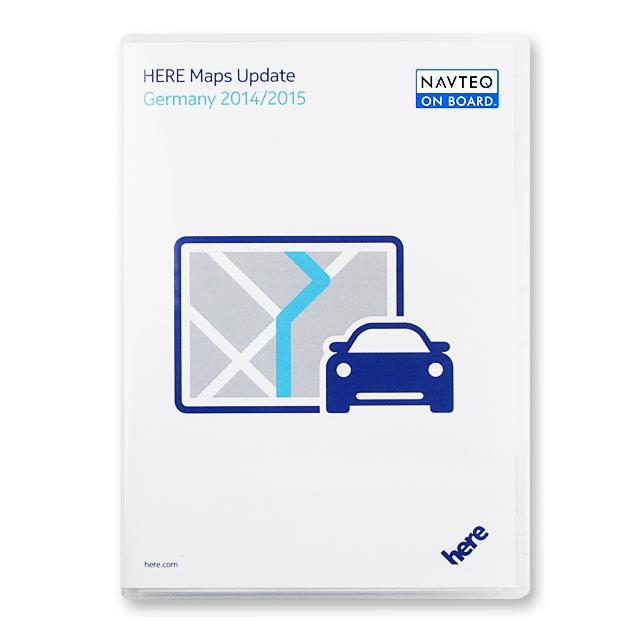 VDO-Dayton/Navteq (Here) - Germany - T1000-22300 - VDO Dayton non CIQ (2 CD) 2014/2015