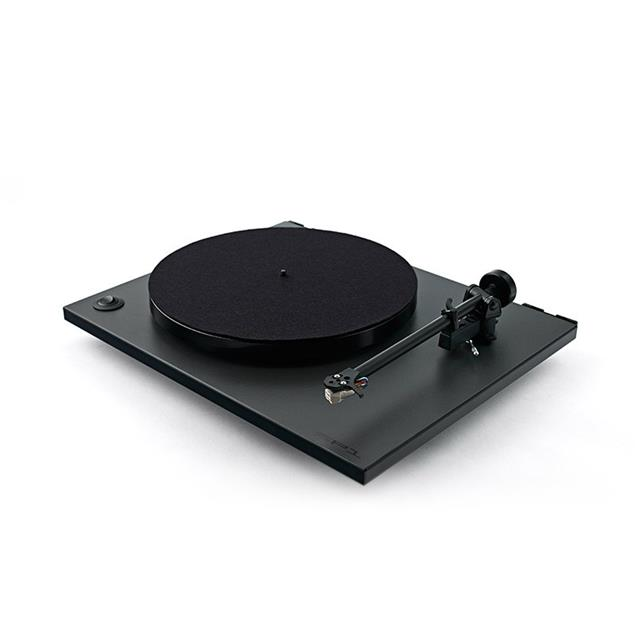 Rega RP1 Cool grey - record player with Rega Carbon MM (Cool grey / incl. Carbon MM / incl. tonearm RB101 / incl. dust cover)