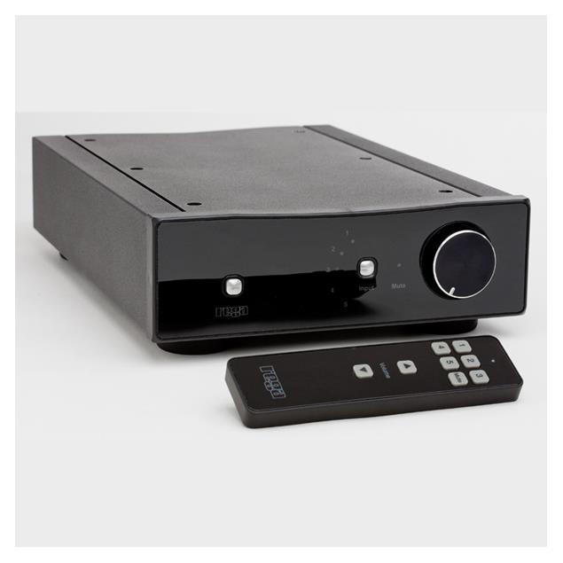 Rega BRIO-R - integrated power amplifier (black)