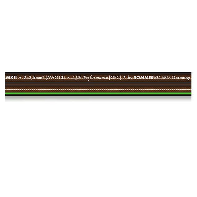 Sommer Cable 240 MKII - SC-ORBIT  - Speaker cable (50 m / 2x4,0 qmm / 12 x 5,9 mm/ black transparent )