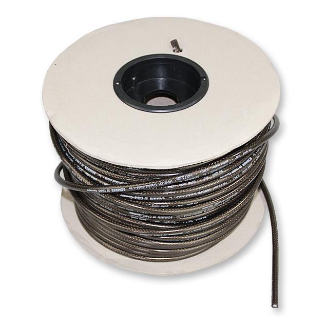 Sommer Cable 300-0071 - SC-SPIRIT XXL  - Guitar Cable high-end (1 m / 1 x 0,75 qmm / 6,8 mm /  black transparent  )