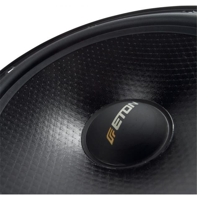 Eton POW 172.2 Compression - 2-way loudspeakers (50 Watts / black / 1 pair)