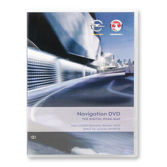 Navteq Germany - Opel CD500 for MY2009/2010 (V 2014/2015 / Astra J / Insignia / Meriva B)