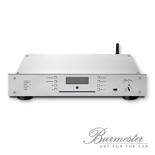 Burmester Top Line - 151 Musiccenter (silver/chrome)