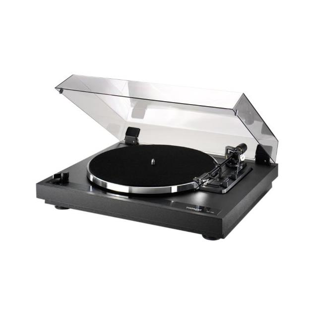 THORENS TD 190-2 - fully automatic record player / turntable (incl. Thorens tonearm TP 19-1 / MM cartridge OM 10 / black)