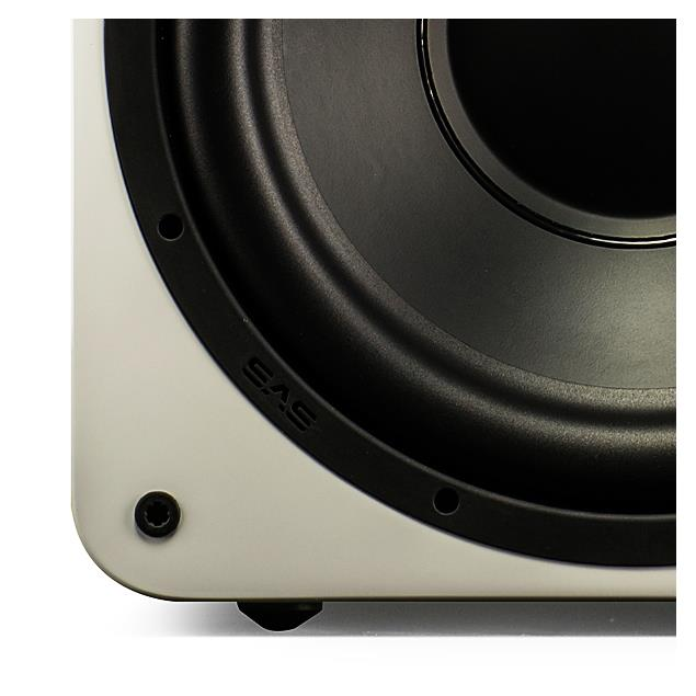 SVS SB-1000 - Active subwoofer (300 Watts RMS continuous power / 700 Watts maximum peak / piano gloss white)