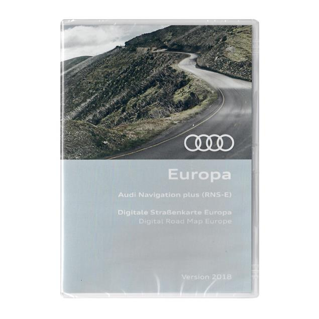 Navteq Europe - Audi Navigation plus RNS-E 2018 (3 DVD)