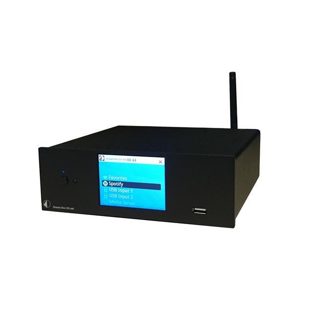 Pro-Ject Stream Box DS Net - audio streamer & internet radio (24bit/192kHz / including remote control / black