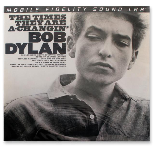 Bob Dylan: The Times They Are A-Changin' - Double-LP (2 x 180 gram vinyl / gatefold LP / Mobile Fidelity Sound Lab / new & sealed / MFSL 2-421)