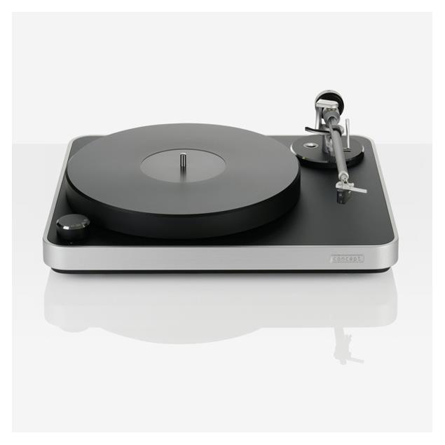 Clearaudio Concept - turntable with MM system (aluminum chassis / 33,3-45-78 rpm)