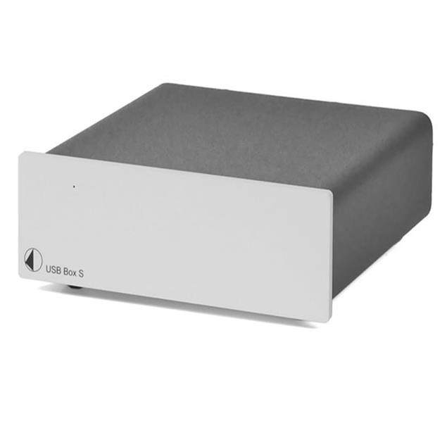 Pro-Ject USB Box S - D/A converter with USB-Input (silver)