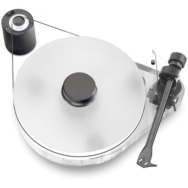 "Pro-Ject RPM 9.1 Acryl - manual record player (9"" carbon tonearm / without cartridge)"