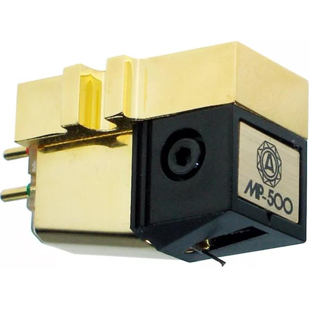Nagaoka MP-500 - MI cartridge system for turntables (line contact diamond stylus / Moving Iron technology)
