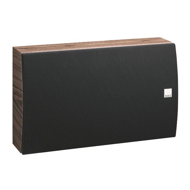DALI Rubicon LCR On-Wall-Speaker (20-150 W / walnut veneer / 1 piece)