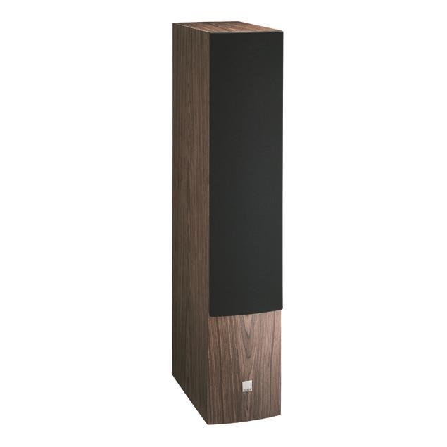DALI Rubicon 8 - 3-Way bass reflex floorstanding loudspeaker (40-250 W / walnut veneer / 1 piece)