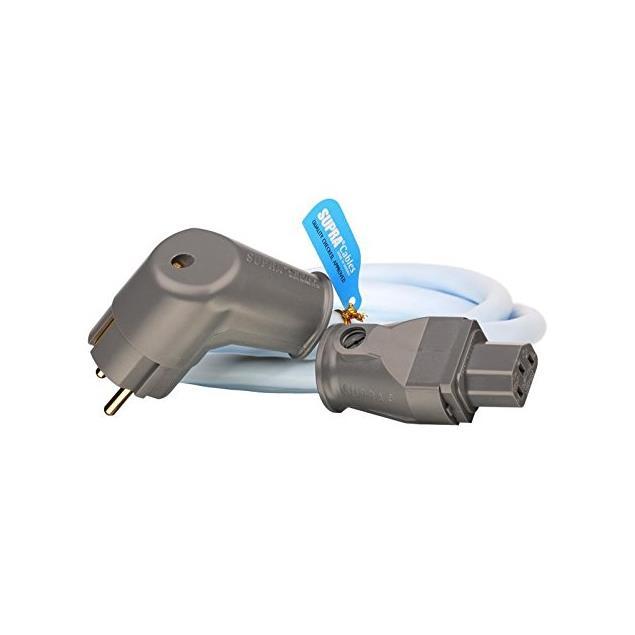Supra Cables 3002100018 - LoRad 2.5 MKII CS-EU Powercord (1 piece / 1.5 m / ice blue)
