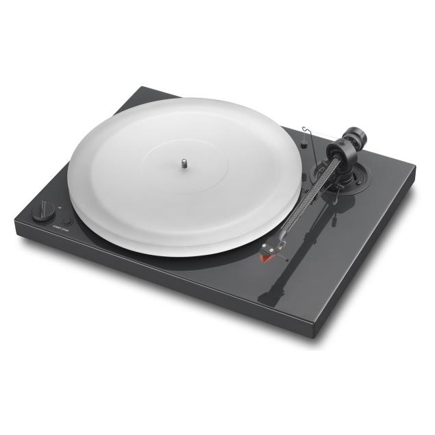 Pro-Ject Xpression III Comfort - record player incl. tonearm + Ortofon MM cartridge 2M Red (high-gloss black)