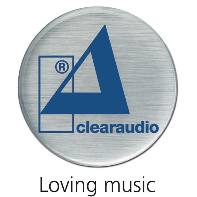 Clearaudio Concept - record clamp (weight: 215 grams