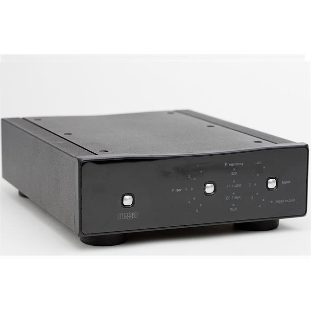 Rega DAC-R REMOTE - digital/analog converter (black)