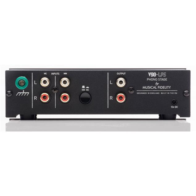 Musical Fidelity V90-LPS - phono-amplifier for Moving Magnet (MM) + Moving Coil (MC) systems (black / 1 piece)