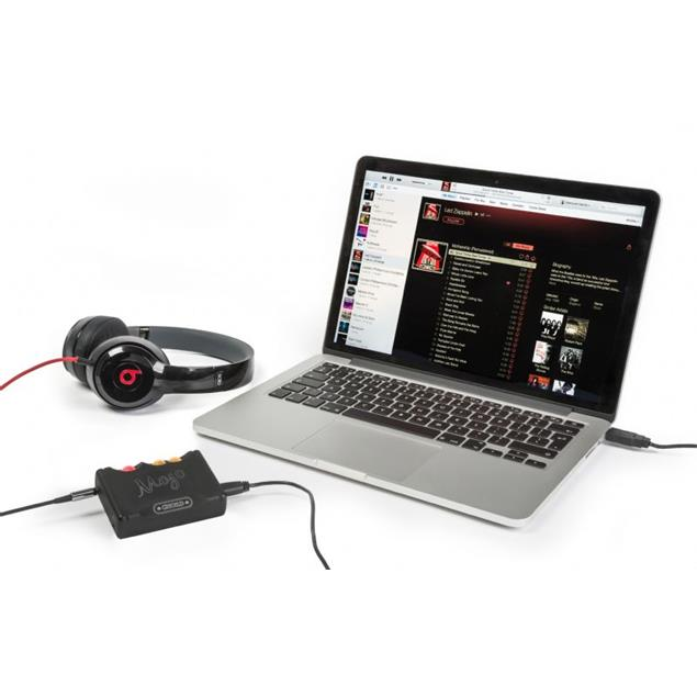 Chord Electronics Mojo - mobile DAC / headphone amplifier (USB / 768kHz/32bit / DSD256 / black)