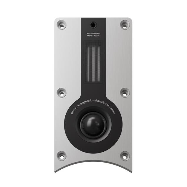 DALI Opticon 6 - 3-Way bass reflex floorstanding loudspeakers (25-200 W / black ash / 1 pair)
