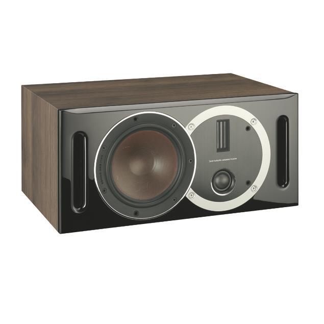 DALI Opticon Vokal - bass reflex centerspeaker (30-150 W / light walnut)