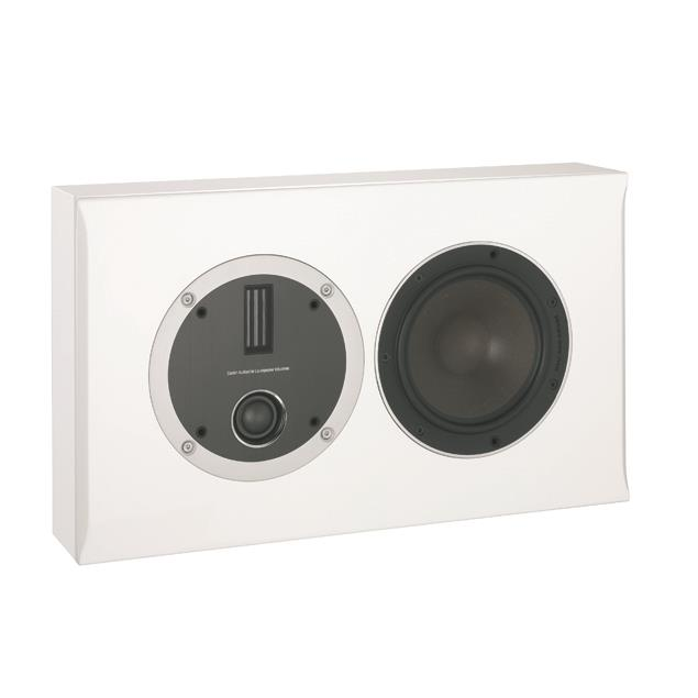 DALI Opticon LCR - bass reflex centerspeaker (30-150 W / matt satin white / 1 piece)