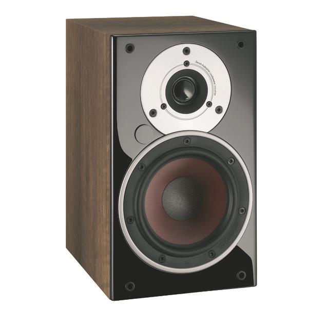DALI Zensor 1 AX - active 2-Way bass reflex bookshelf-loudspeakers (160 W / light walnut / 1 pair)