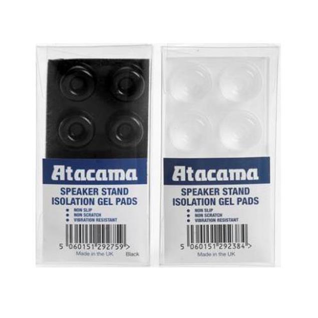 Atacama Isolation Gel Pads (set of 8 / black / for loudspeaker stands)